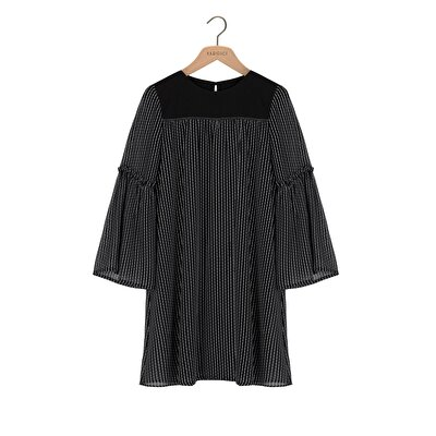 Picture of Flared Sleeve Dress