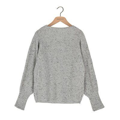 Picture of High Neck Loose Knit