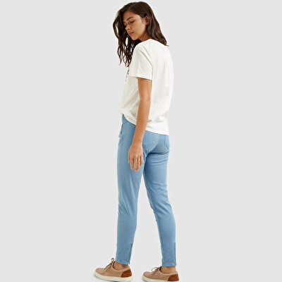 Picture of Side Zipped Skinny Denim