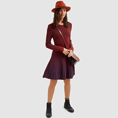 Resim Kontrast Ribli Triko Elbise