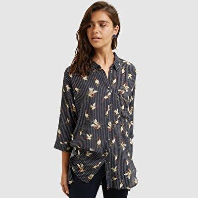 Chain Detailed Shirt