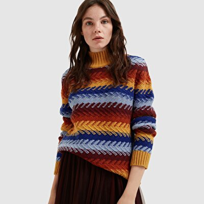 Picture of Patterned Long Sleeve Tricot