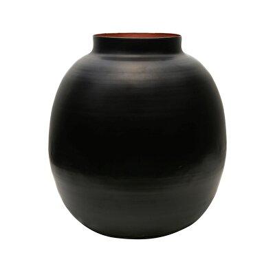 Dekoratif Pot ( 44 X 42 X 19 Cm )
