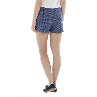 Picture of Pleat Detailed Mini Short