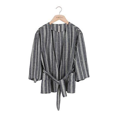 Resim Kısa Kimono Sabahlık