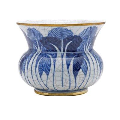 Picture of Handmade Porcelain Flower Pot  ( 13 X 12 Cm )
