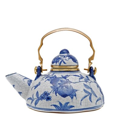 Picture of Handmade Porcelain Teapot  ( 18 X 15 Cm )