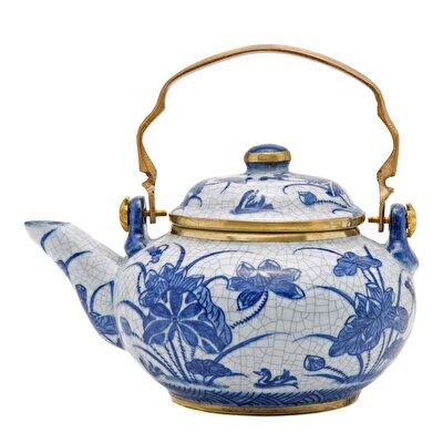 Picture of Handmade Porcelain Teapot  ( 18 X 14 Cm )