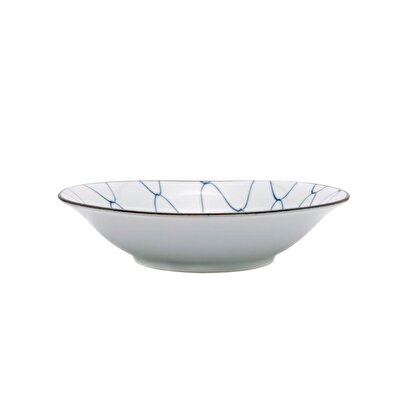 Handmade Ceramic Bowl ( 18 X 4 Cm )