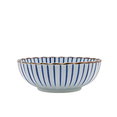Handmade Ceramic Bowl ( 19 X 7 Cm )