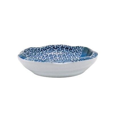 Handmade Ceramic Plate ( 8 X 2 Cm )