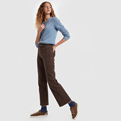 Picture of Bold Belted Highrise Denim Pants