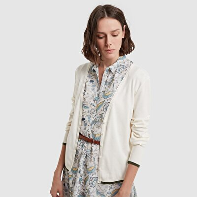 Picture of Buttoned Sleeve Cardigan