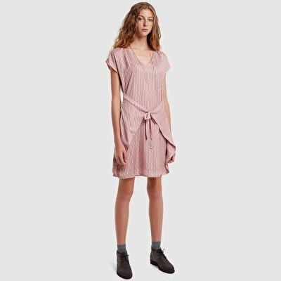 Resim Bağlamalı Elbise