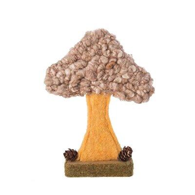 Decorative Mushroom (18 X 15 X 4 Cm)