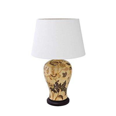 Handmade Ceramic Lamp (24x47 Cm)