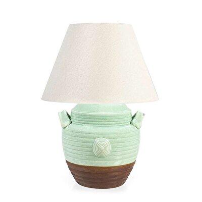 Handmade Ceramic Lamp (27x41 Cm)