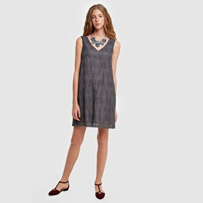 Picture of V Neck Dress