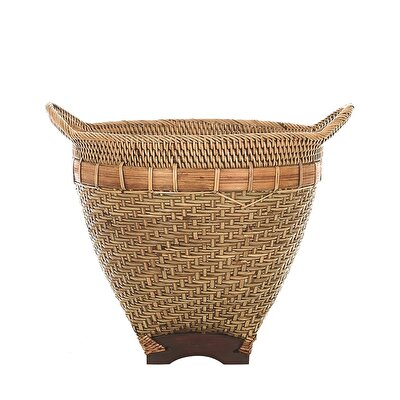 Handmade Rattan Basket (  40 X 37 Cm  )
