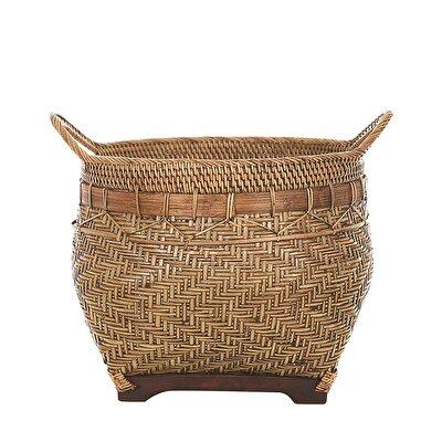 Handmade Rattan Basket (  39 X 33 Cm  )