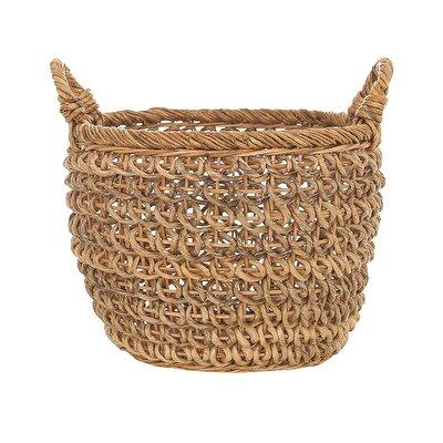 Handmade Rattan Basket (  30 X 34 Cm  )