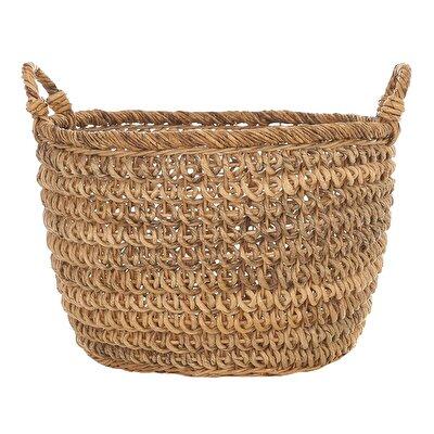 Handmade Rattan Basket (  50 X 40 Cm  )