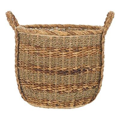 Handmade Rattan Basket (  44 X 43 Cm  )