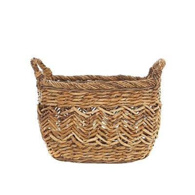 Handmade Rattan Basket (  29 X 30 Cm  )