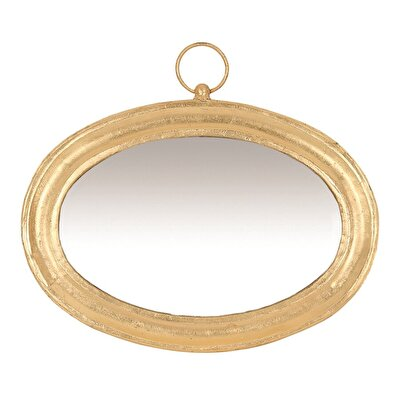 Picture of Gold Foil Covered Mirror (  50 X 43 X 3 Cm  )