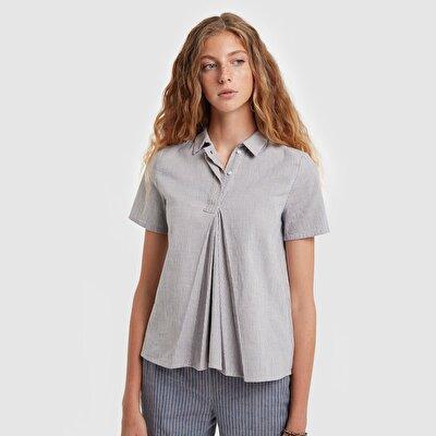 Resim Kırmalı Gömlek