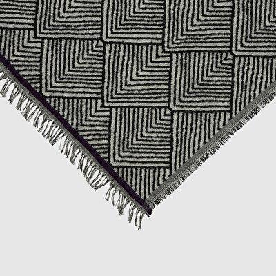 Schal mit Karo Muster