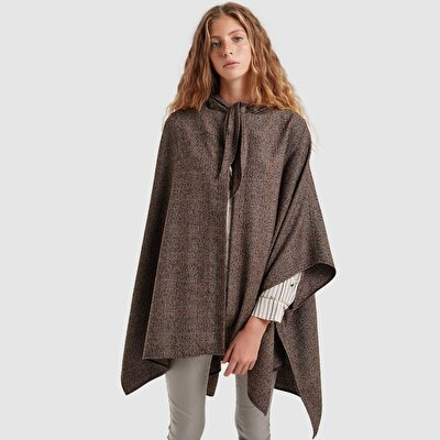 Hooded Poncho