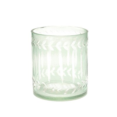 Glass Candle Holder (  6 X 6 Cm  )