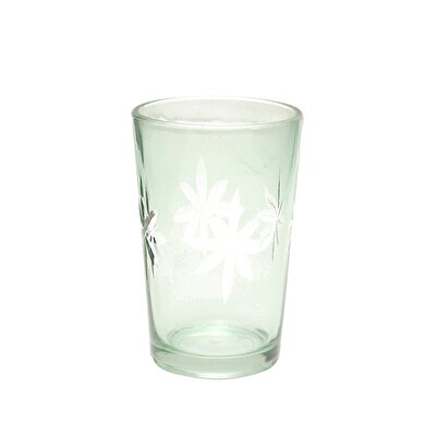 Glass Candle Holder (  9 X 6 Cm  )