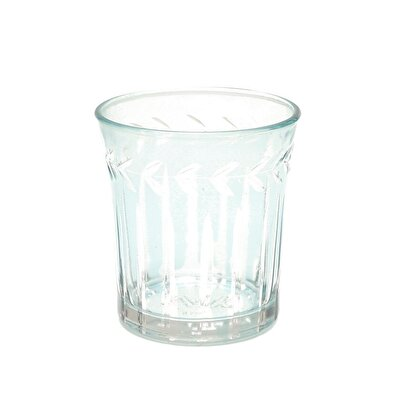 Glass Candle Holder (  7 X 8 Cm  )