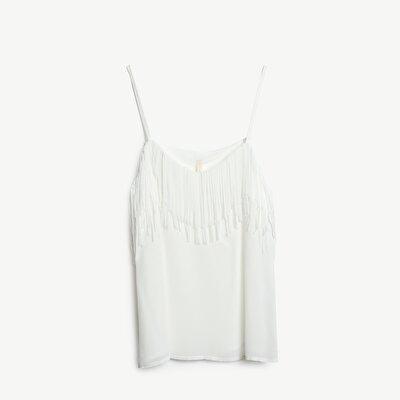 Resim Püskül Detaylı Bluz