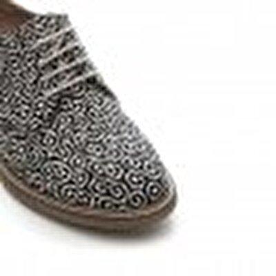 Resim Desenli Kumaş Ayakkabı