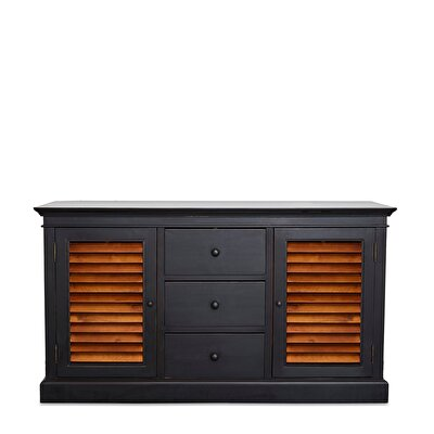 Wooden Console With Drawer ( 150 X 46 X 85 Cm )
