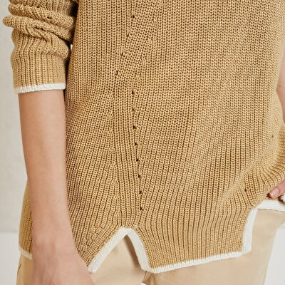 Slit Detail Knitwear