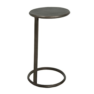 Round Metal Pedestal Table