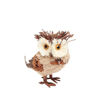 Picture of Decorative Owl Figure ( 8 X 14 X 15 Cm )