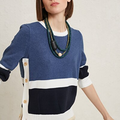 Color Block  Knitwear