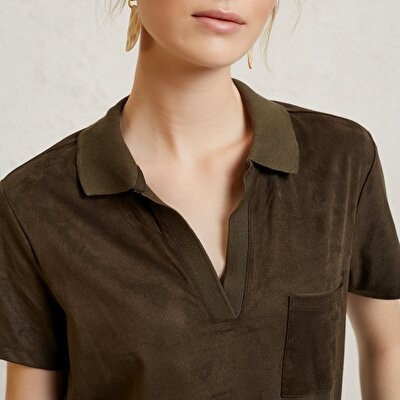 Picture of Polo Neck T-Shirt