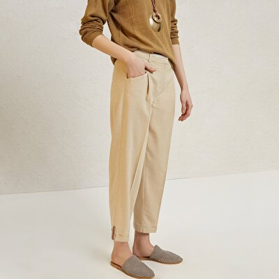 Hem Detailed Trousers
