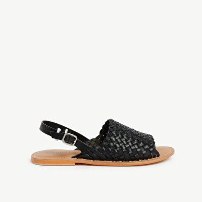Woven Leather Sandal