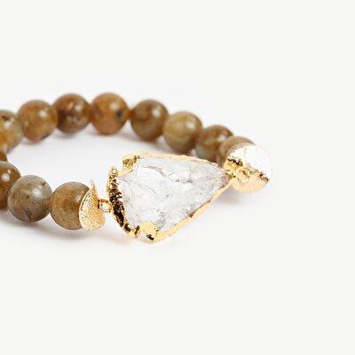 Armband mit Steinperlen