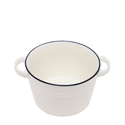 Ceramic Salad Bowl ( 22,5 X 17 X 10,5 Cm )