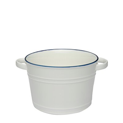 Ceramic Salad Bowl ( 27,5 X 21,5 X 14,5 Cm )