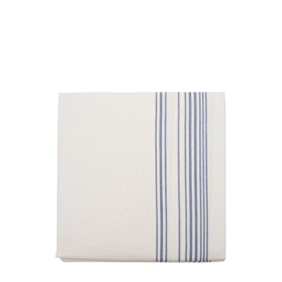 Esinti Queen Size Blue Stripe Quilt Cover ( 240 X 220 Cm )