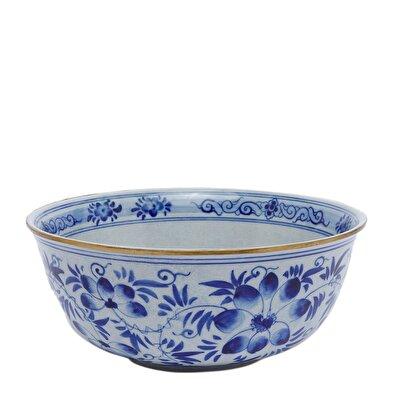 Handmade Porcelain Bowl ( 37 X 12 Cm )